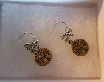 Tree or life earrings