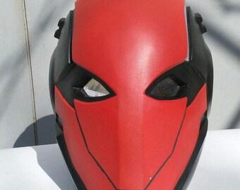 Red Hood Mask Helmet FanArt