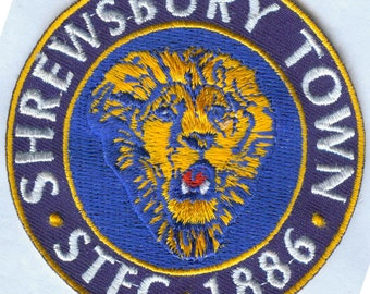 Shrewsbury Town FC Football Club English England EMBROIDERED Patch