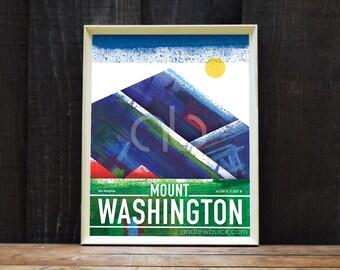 Mount Washington, New Hampshire, Art Print