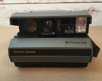 "Polaroid Spectra AF Instant Camera Vintage 1991 In Original Box With Paperwork ""Untested"""