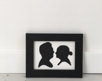 You and I Silhouette