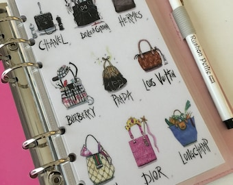 Purse Galore Personal Planner Dashboard