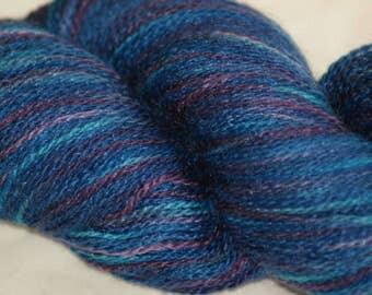 "Wool/ Silk Hand-painted Lace Yarn ""Hera"""