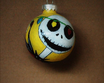 Tim Burtons Nightmare Before Christmas Jack Skellington and lights on strings