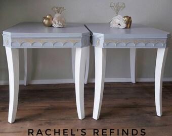 Elegant End Tables