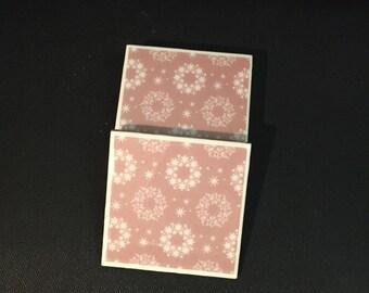 Wreath Coasters - Set of 4