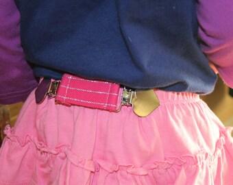 Toddler Kid Elastic Clip Cinch Belt - Waistband Tightener