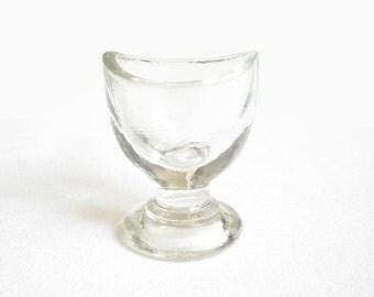Antique Medical Eye Washing Glass Cup