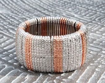 Bronze bracelet Two-tone Slave model
