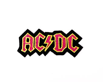 AC DC Band Patch