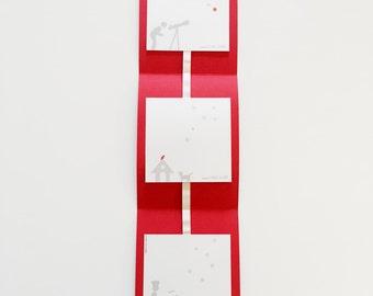 vertical paper Garland
