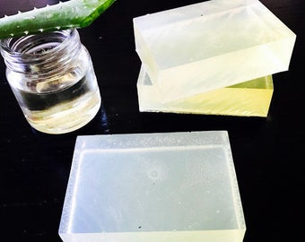 Bamboo Aloe Vera and Olive Oil Soap Bar