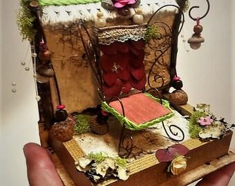 Kings Throne , Fairy furniture,Fairy garden