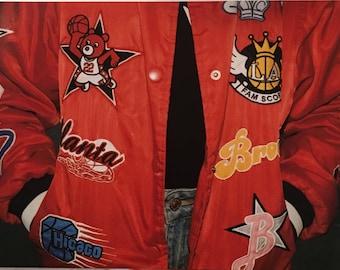 Vintage Varsity Jacket w/ Patches