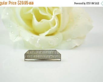 On Sale 1939 Fort George Meade Pin / Brooch Sterling Silver 3.4g