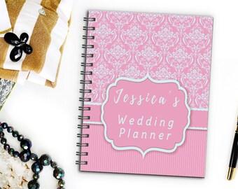 Personalizzato Vintage Wedding Planner, organizzatore da sposa, damigella d'onore Wedding Planner libro Bridesmaid Wedding Planner Notebook