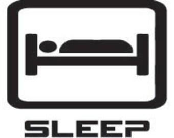 """Eat Sleep """"Auto Maker"""" Sticker"""