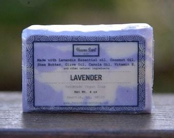 Luxurious Lavender Soap - Handmade, Vegan, and Natural