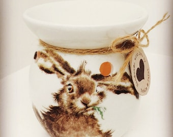 Handmade Hare Rabbit Wax Oil Burner