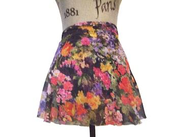 Spring Time Ballet Wrap Skirt  - Short