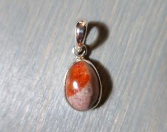 Boulder Opal pendant in Sterling Silver