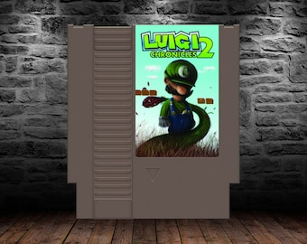 Luigi's Chronicles 2 - Mario's Player 2 Returns in an All-New Adventure - NES