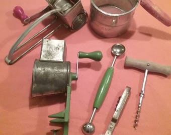 Vintage Kitchen Gadgets  - Kitchen Decor -