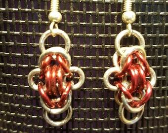 Chainmail earings