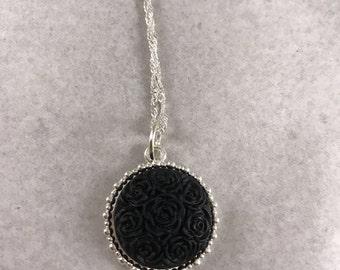 Black Roses Pendant