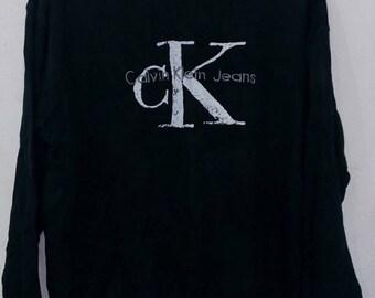 Rare Calvin Klein sweatshirts L size