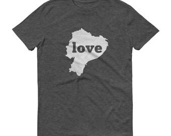 Ecuador, Ecuador Clothing, Ecuador Shirt, Ecuador T Shirt, Ecuador TShirt, Ecuador Map, Ecuador Gifts, Made in Ecuador, Ecuador Love Shirt