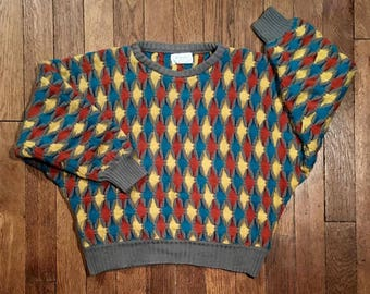 Mesh vintage Benetton sweater