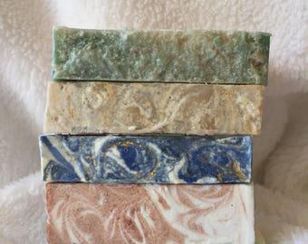 Sample Bars cold process soap- appx. 1 oz