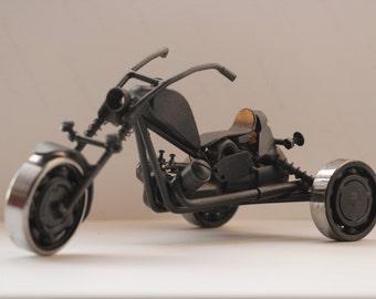 Motorcycle, motorbike (tricycle)