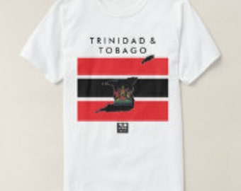 UProSquad Trinidad and Tobago Crest and Colours T Shirt