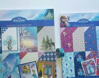 Frozen Scrapbook paper lot