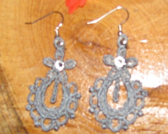 Julie Embroidered Earrings