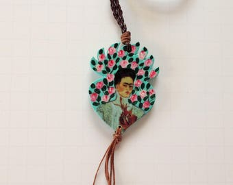 Frida Kahlo Necklace Pendant Frida Kahlo Beautiful Pendant