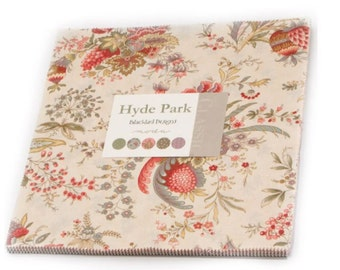 Moda - Hyde Park by Blackbird Designs Layer Cake, 42 -  10 inch squares