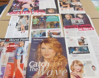 TAYLOR SWIFT   #3  CLIPPINGS  #O523