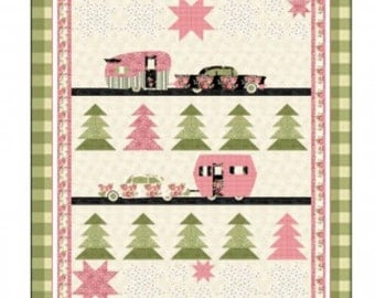 Glamping Quilt Pattern by Coach House Designs