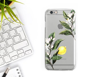 iPhone 7 Case Rubber Lemon iPhone 7 Plus Case iPhone 6S Case iPhone 6 Case iPhone 6 plus case iPhone 6s Plus Case Samsung Galaxy S7 Case