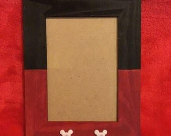 Mickey mouse inspired photo frame