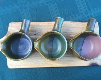 Small handled pot | chocolate or soup pot