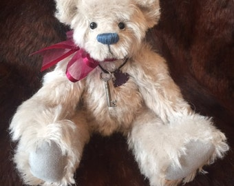 Gus - artist made, hand-made, mohair, teddy bear, collectible, one-of-a-kind,