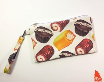 Hostess Cakes Pattern Clutch