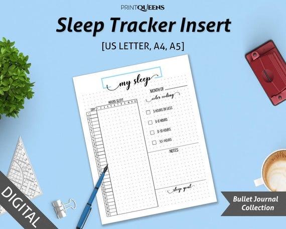 how to create a sleep diary tuck