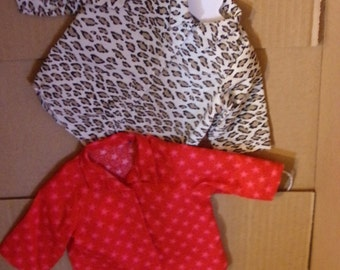 "Shirts for American Girl or 18"" dolls"