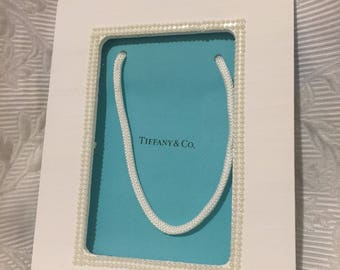 Painted Pearl Frame - Tiffany Co. Inspired